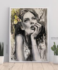 Emilia - by New Zealand Artist Al Remo